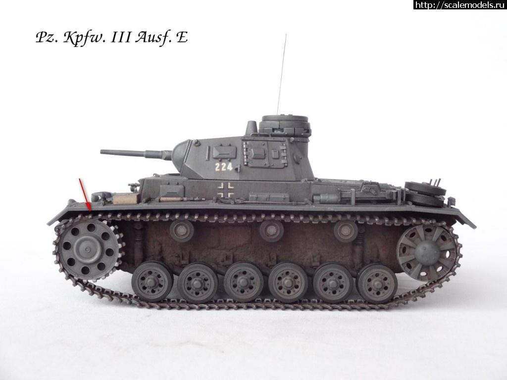 #1080515/ Dragon 1/35 Pz. Kpfw. III Ausf. E(#7951) - обсуждение Закрыть окно