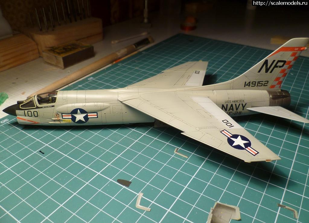 #1081673/ 1/72 Academy F-8E Crusader ГОТОВО!!! Закрыть окно