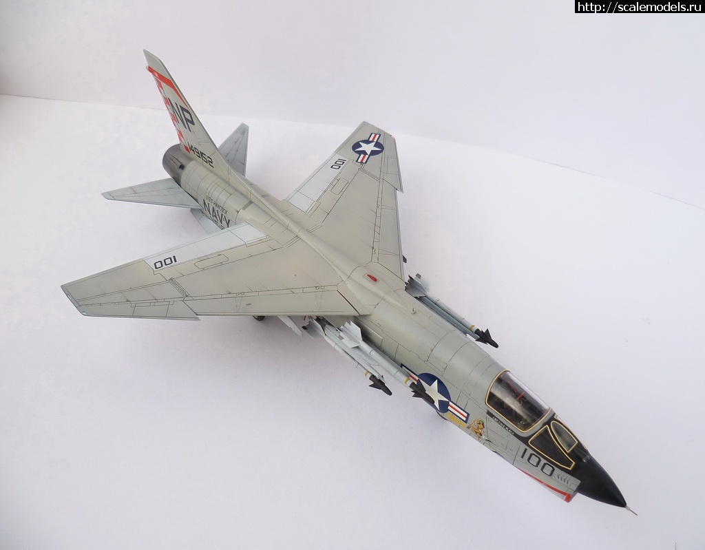 #1082514/ 1/72 Academy F-8E Crusader ГОТОВО!!! Закрыть окно