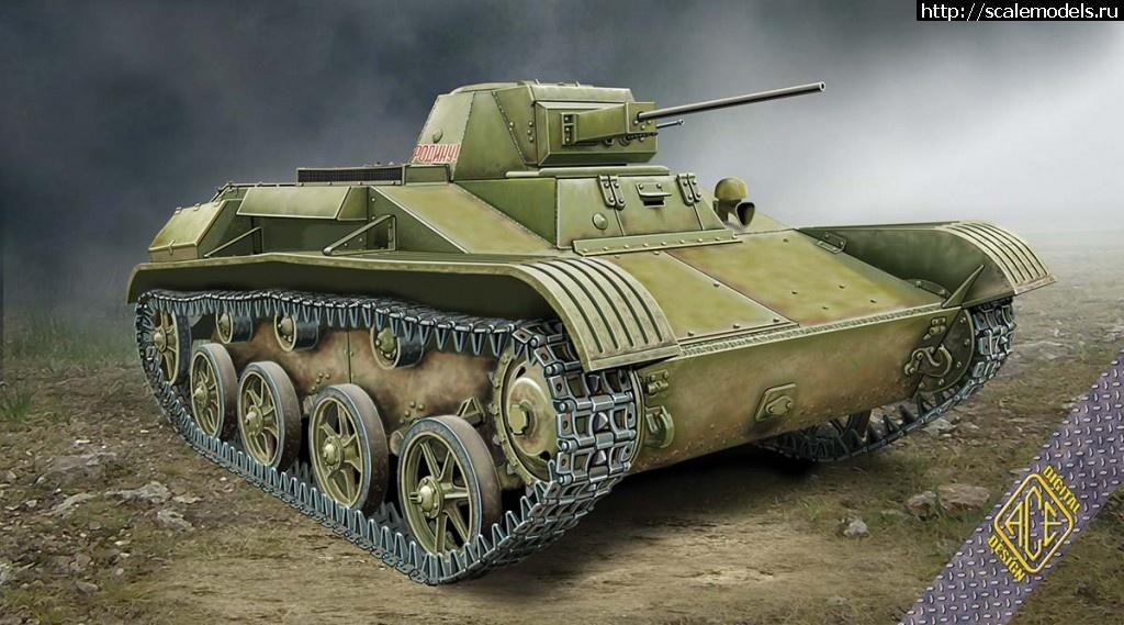 ACE 1/72 T-60 выпуска завода №264 (спицованные колёса, зима 1942) Закрыть окно