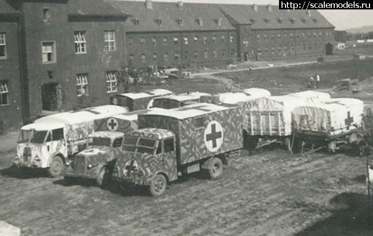 ACE  1/72 Медицинский фургон на базе 3,5т грузовика AHN Закрыть окно