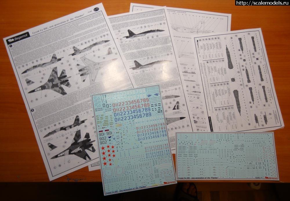 Новинка Бегемот 1/72 деколь на Су-35С Закрыть окно