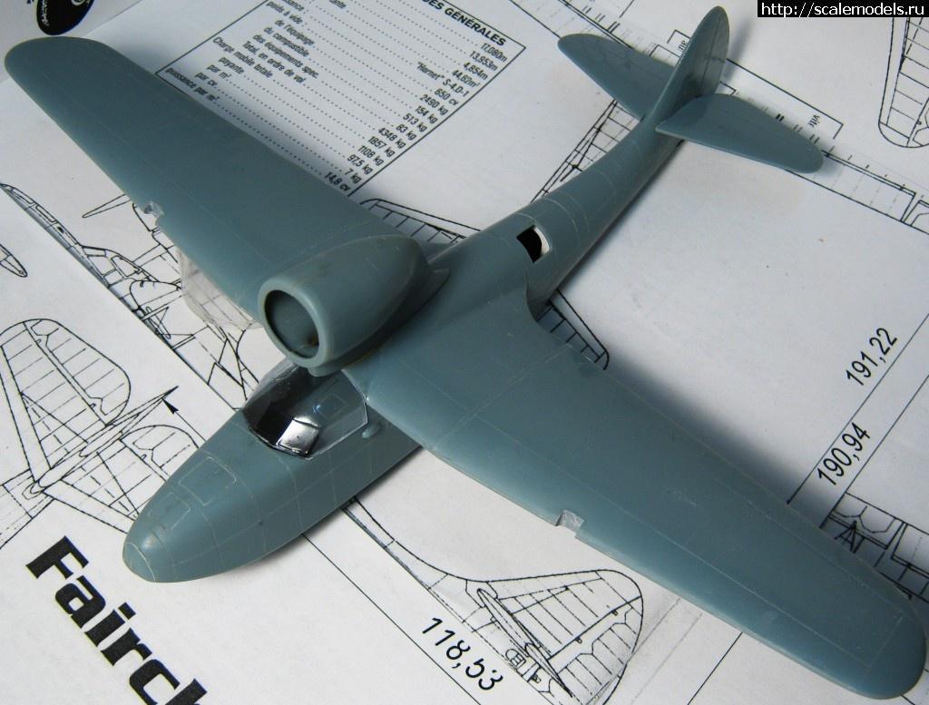 #1208420/ 1/72 Azur Fairchild 91 «VIRGEN DE CHAMORRO». Готово. Закрыть окно